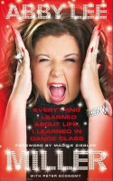 Abby Lee Miller on the cover page of her autobiography