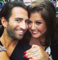 Abby Lee Miller with Michael Padula