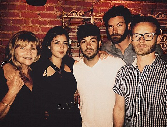 Jordan MAsterson with Mother & siblings