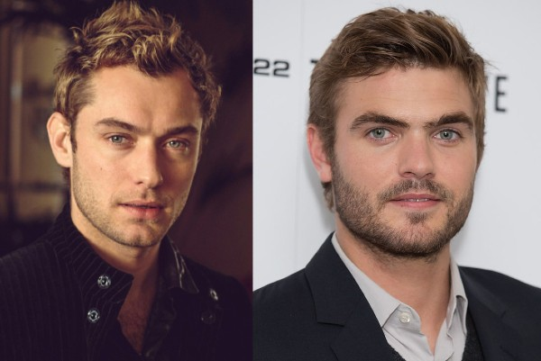 Alex Roe and Jude Law