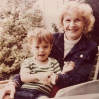 Alexander Polinsky childhood with grandma