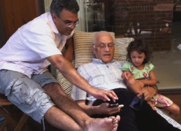 amar bose mit. Amar Bose With Son Vanu \u0026 Granddaughter Kamala Mit