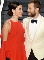 Amelia Warner with husband