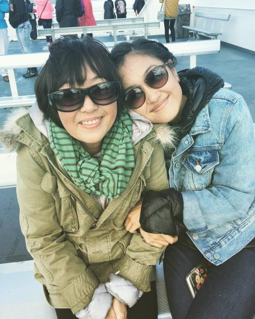 Amy Okuda with Mother