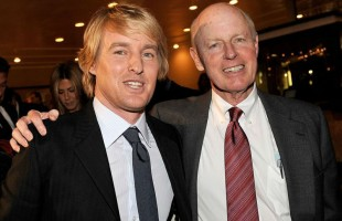 Andrew Wilson's father Robert Wilson with Owen Wilson