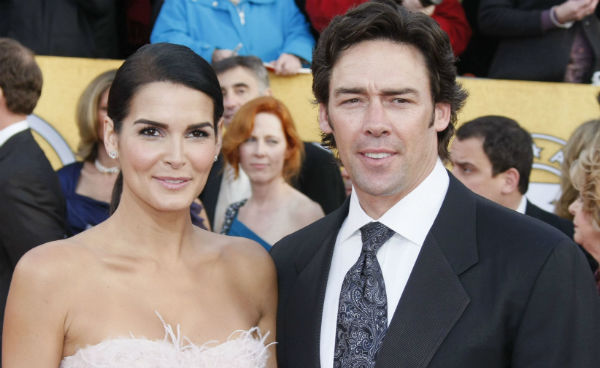 Angie Harmon with Ex-husband Jason Sehorn
