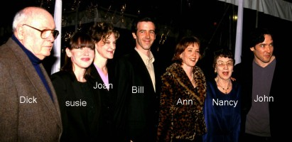 Ann Cusack Family: Father(Richard), Mother(Nancy), sisters(Joan,Susie) & Brothers(bill, John)