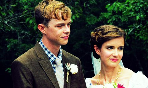 Anna Wood & Dane Dehaan wedding