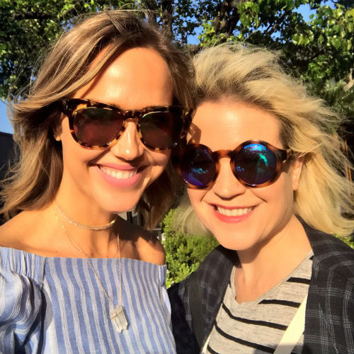 Arielle Kebbel with Sister Julia