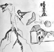 Balthazar Getty drawings
