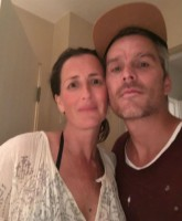 Balthazar Getty with sister Anna Getty