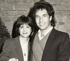 Bill Hudson with then wife Cindy Williams