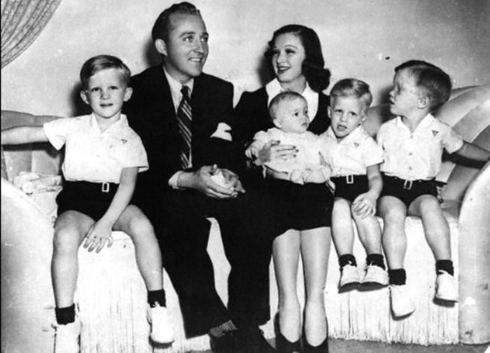 Dixie Lee, Husband Bing Crosby & Sons