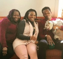 Brandon Micheal Hall family: Mother Bettty & Sister Octavia