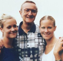 Brittany Daniel & Cynthia Daniel with their Father Charlton Bradford Daniel