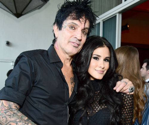 Brittany Furlan with boyfriend Tommy Lee