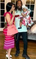Cardi B, Offset and daughter Kulture