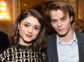 Charlie Heaton with Natalie Dyer