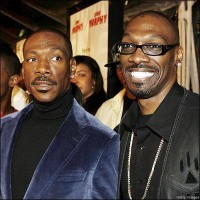 Charlie Murphy with brother Eddie Murphy