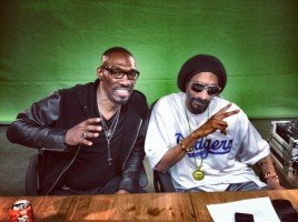 Charlie Murphy with snoop dogg