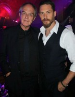 Chips Hardy with son Tom Hardy