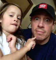 Chris Cuomo with daughter Carolina Cuomo