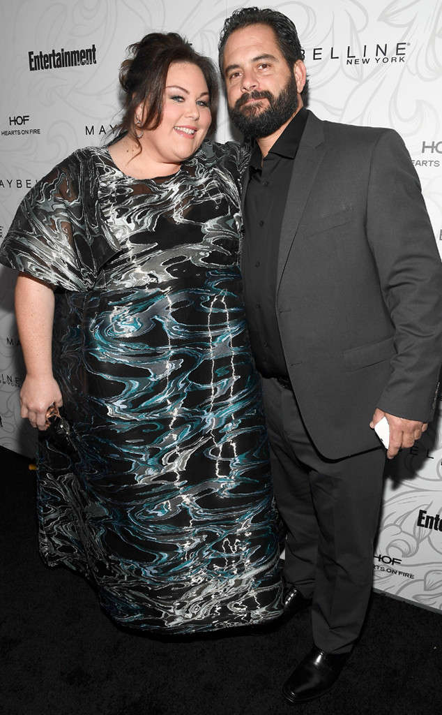 Chrissy Metz with boyfriend Josh Stancil