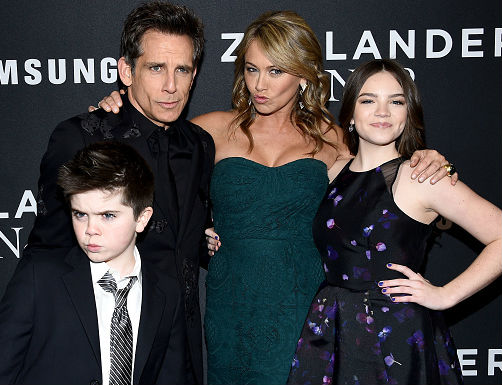 Christine Taylor Family: Ben Stiller(husband), Quinlin Dempsey Stiller(son), Ella Olivia Stiller(Daughter)