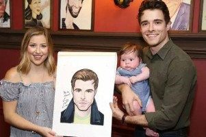 Corey Cott (Casey's brother) family- Wife & Son