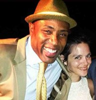 Cress Williams with wife Kristen Torrianni