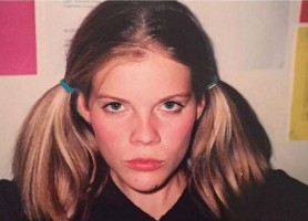 Emma Greenwell in her teens
