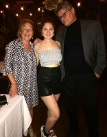 Emma Kenney with parents: Dad(Kevin Kenney), Mom (Gillian Kenney)