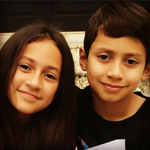 Emme Maribel Muniz & Maximilian David Muniz