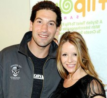 Erin Angle with husband Jon Bernthal