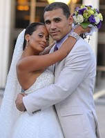 Essence Atkins wedding