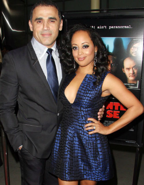 Essence Atkins with husband Jaime Mendez