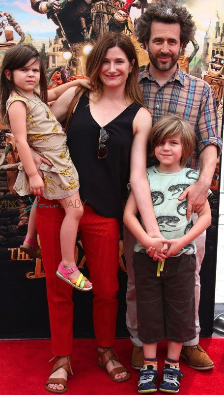 Ethan Sandler Family: Wife Kathryn Hahn, Son Leonard Sandler, Daughter Mae Sandler