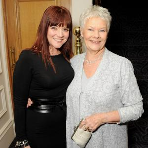 Finty Williams with her Mom Judi Dench