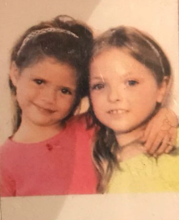 Francesca Eastwood Childhood: with sister Morgan Eastwood