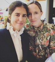 Francesca Gregorini with girlfriend Morgan Marling