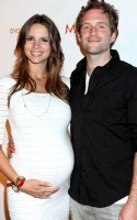 Glenn Howerton with (pregnant) Wife Jill Latiano