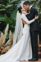 Grant Gustin & Andrea Thoma wedding
