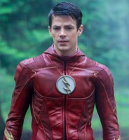 Grant Gustin in 'The Flash' costume