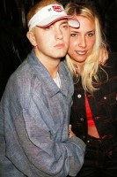 Hailie Jade Scott Mathers with Dad Eminem