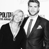 Hemsworth Mom Leonie Hemsworth with Liam Hemsworth