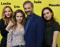 Iris Apatow Family: Judd(Father), Leslie(Mother), Maude(sister)