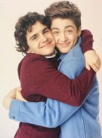 Jack Dylan Grazer and Asher Angel