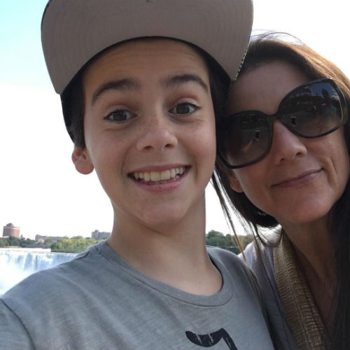 Jack Dylan Grazer with his Mom Angela LaFever
