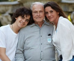 Jack Dylan Grazer with Mom and Grandfather