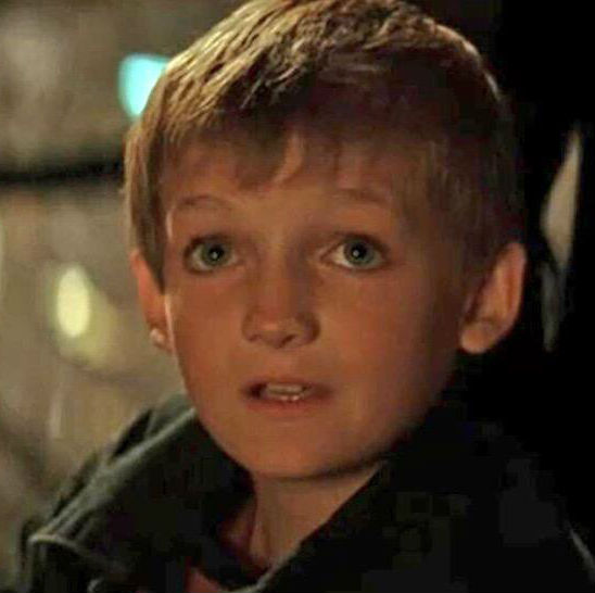 Jack Gleeson childhood snap from Batman Begins(2005)
